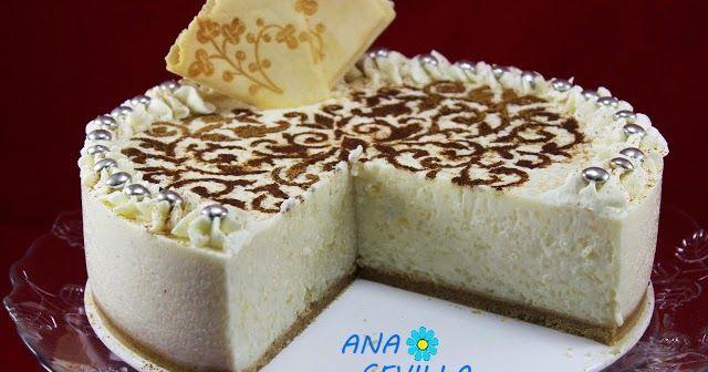 Tarta de ARROZ  con leche.  ANA SEVILLA | https://lomejordelaweb.es/