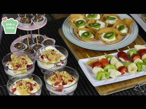 Finger Food Ideas/ Recipes - Episode 129 - Amina is Cooking - YouTube