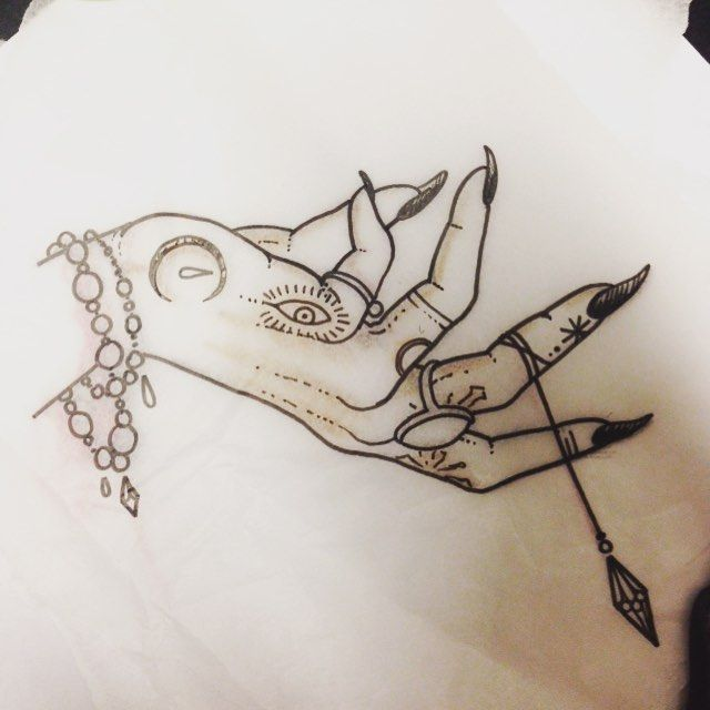 witch hand tattoo - Google Search