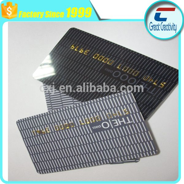 CR80 custom matte printed plastic card/small printed plastic