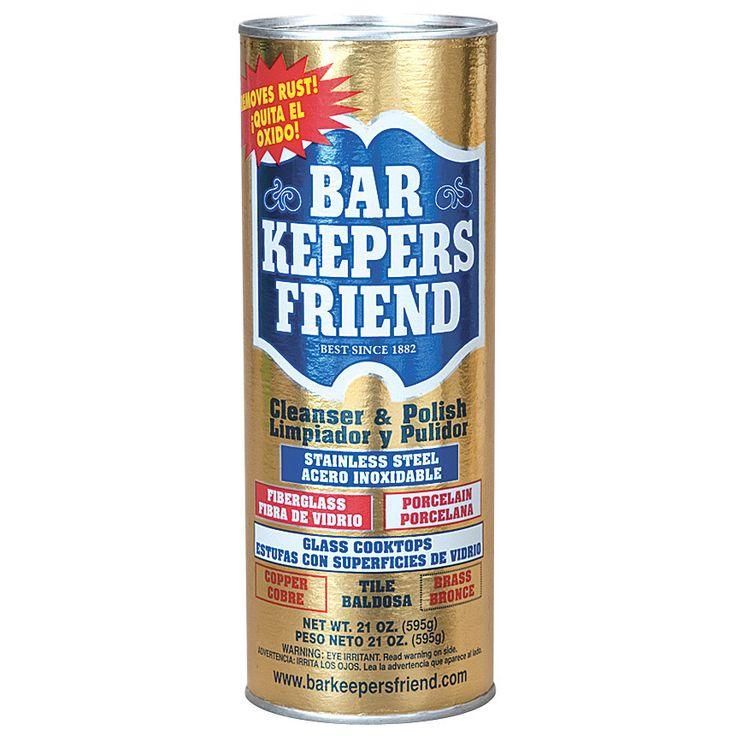 Bar Keepers Friend 11514 21 Oz Bar Keepers Friend Cleaner & Polish