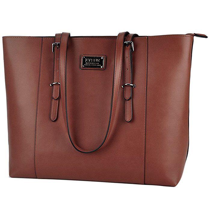 Women Durable PU Leather Tote Large Capacity Handbag  Shoulder Bags New