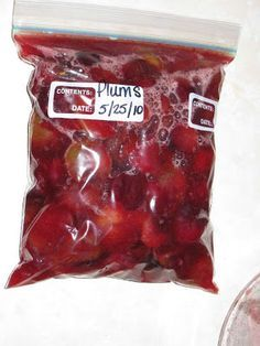 I Hear Them All: Freezing Plums
