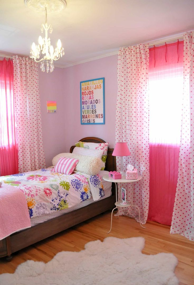 The 25+ best Girls bedroom curtains ideas on Pinterest | Teen bed ...