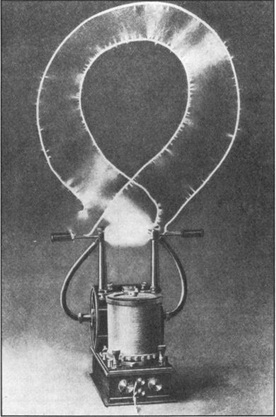 """Electrical oscillator by Nikola Tesla Tesla's electro-mechanical oscillator is a steam-powered electric generator patented by Nikola Tesla in 1893.[1][2] Later in life Tesla claimed one version of the oscillator caused an earthquake in New York City in 1898, gaining it the popular culture title """"Tesla's earthquake machine""""."""