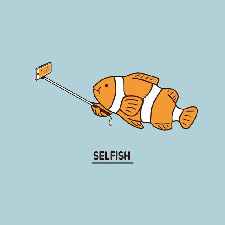 OMG!!! Selfish! Glup Glup Glup Funny! Awesome! A fish with style! Taking a SELFISH! Love it! A...