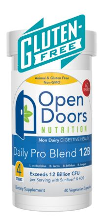 Our Daily Pro Blend 12B is Gluten Free - Read About it Here: http://www.newswire.net/newsroom/pr/00084079-gluten-free-probiotic-supplement.html
