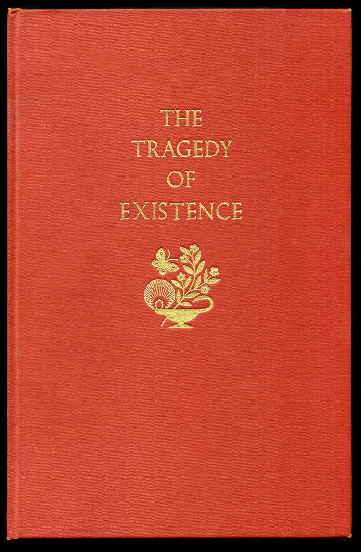 Vintage Book - The Tragedy of Existence