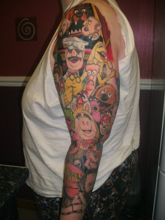 Random Tattoo Sleeve: 500+ Best Images About Muppets 2 On Pinterest