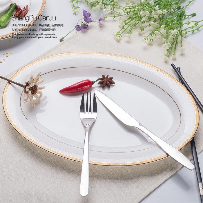 12 pulgadas, porcelana fina placa decorativa, banda de oro diseñado, platos cargador, vajilla de porcelana china, microondas en Platos Porcelana de Hogar y Jardín en AliExpress.com | Alibaba Group