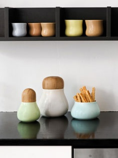 These jars are from the Danish design group Kähler