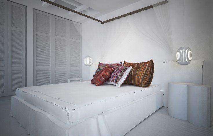 Villa in Mykonos on Behance