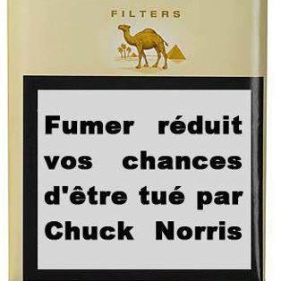 chuck norris or smoking
