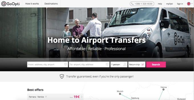 GoOpti a ride-sharing app for European shuttle bus services raises 3.4M funding #Startups #Tech