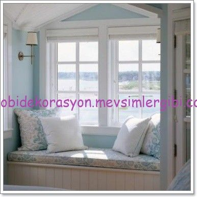 pencere cam önü (divan&koltuk) dekorasyonu http://hobidekorasyon.mevsimlergibi.com/pencere-cam-onu-divankoltuk-dekorasyonu/