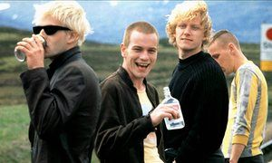 Sick Boy, Renton, Tommy & Spud from Trainspotting.
