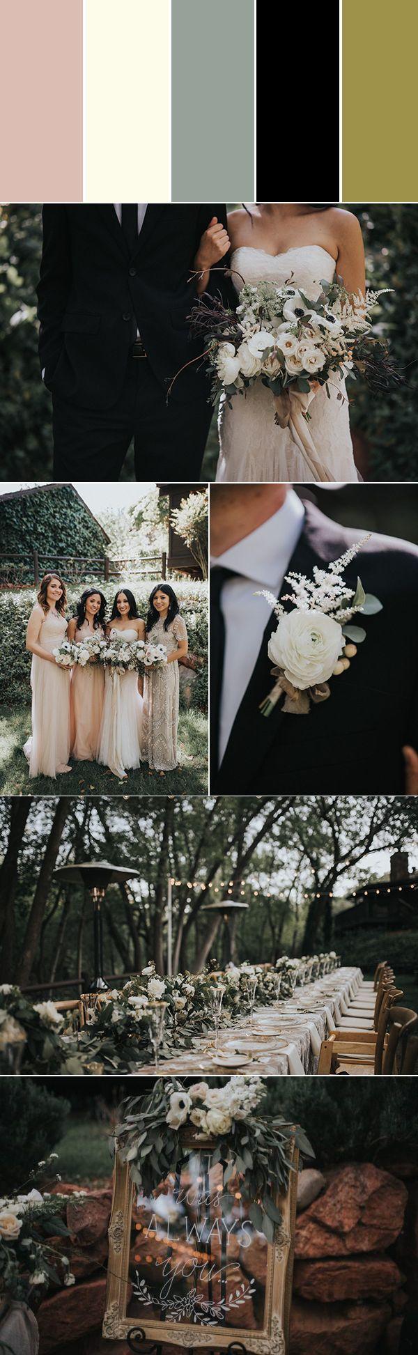 Modern romantic neutral palette | photos by Jonnie & Garrett