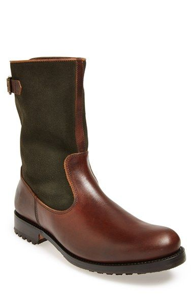 LOTTUSSE 'Chromex' Leather Boot (Men) available at #Nordstrom