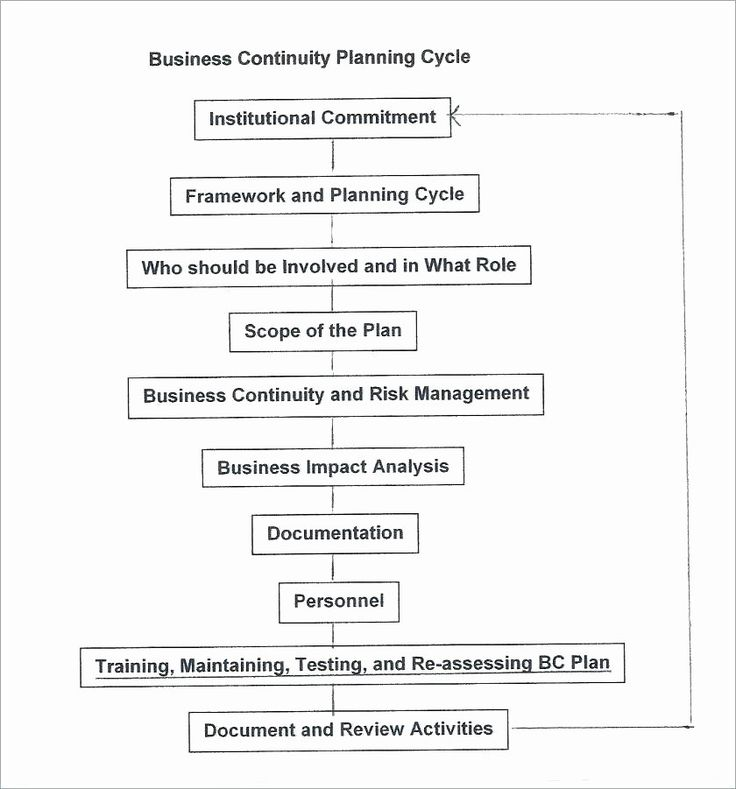 30 Small Business Continuity Plan Template in 2020