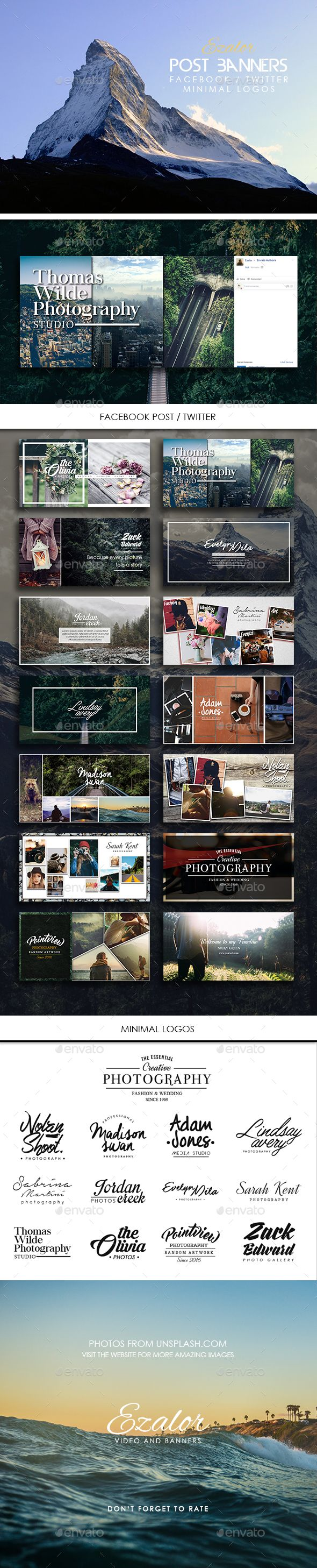 Facebook / Twitter Banners Photography