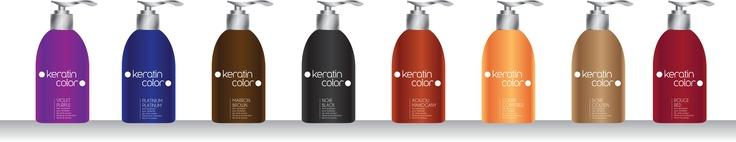 Keratin Color, notre gamme de masques repigmentants à la kératine