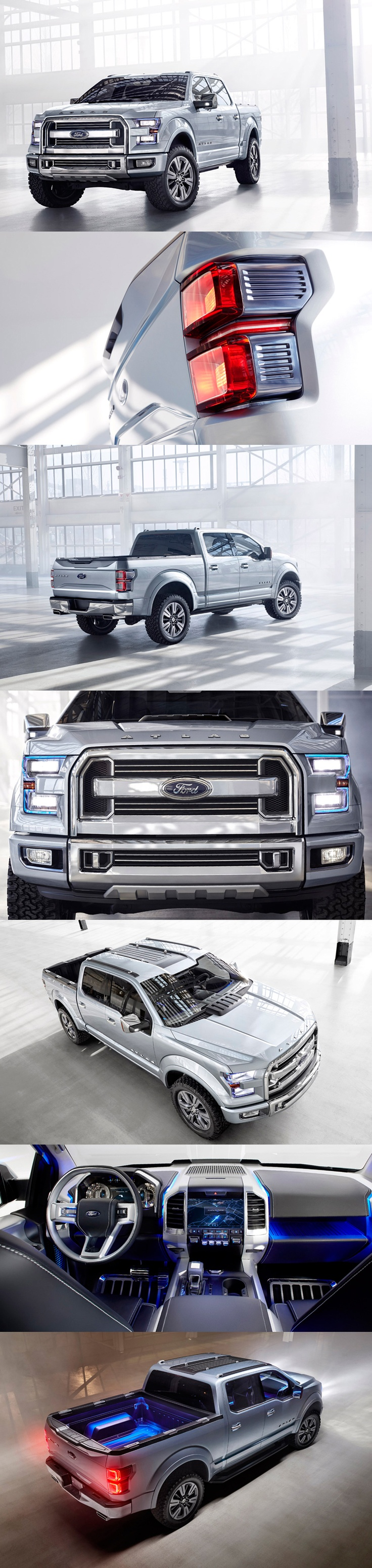 ford atlas pickup truck concept 2013