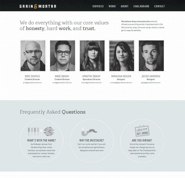 "30 Most Creative ""About US"" Pages of Web Design Agencies 