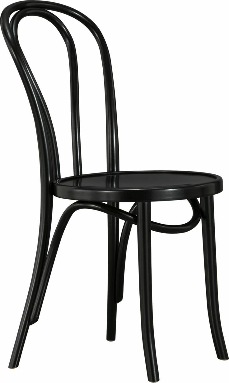 Cafe tables and chairs png - Vienna Black Side Chair Crate And Barrelvienna Black Side Chair 18 H Seat