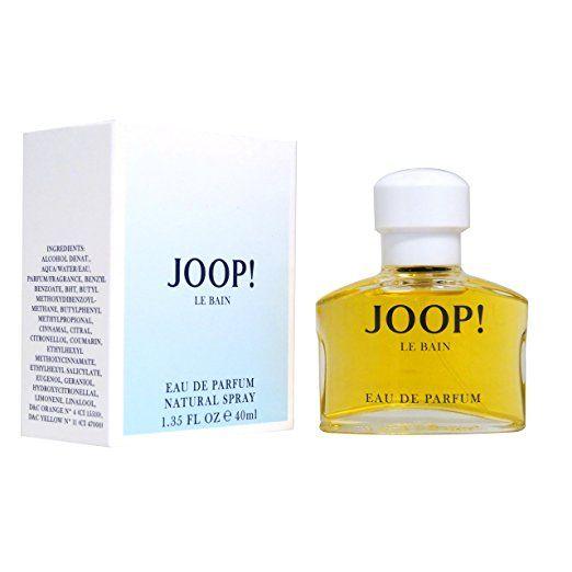 Joop Le Bain, Eau de Parfum, Vaporisateur/Spray, 40 ml.      40 ml Eau de Parfum (EdP) Spray     Duftnoten: Orientalisch, Blumig     Ein gefühlvoller Damenduft, der eine orientalische Kopfnote trägt     Gut für alle sinnlichen Damen geeignet.