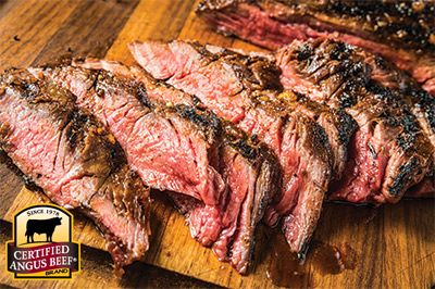 Tex Mex Rub: Taste the difference. There's Angus. Then there's the Certified Angus Beef ® brand.