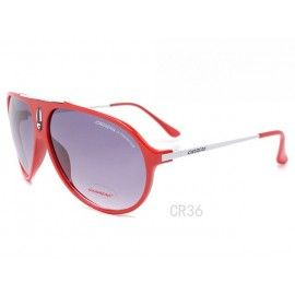 4498fb41145 Carrera sunglasses red and white frame   purple lens