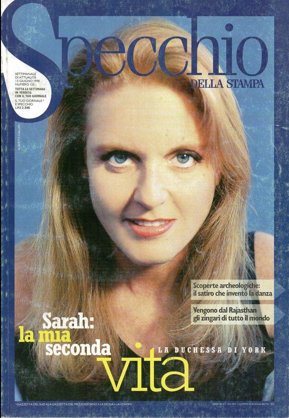 SPECCHIO 125 1998 Sarah Ferguson