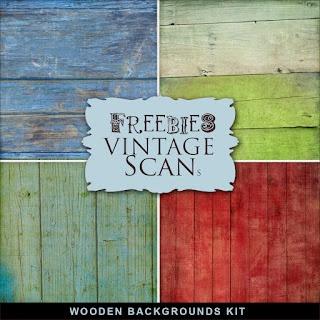 Far Far Hill: New Freebies Kit of Wooden Backgrounds