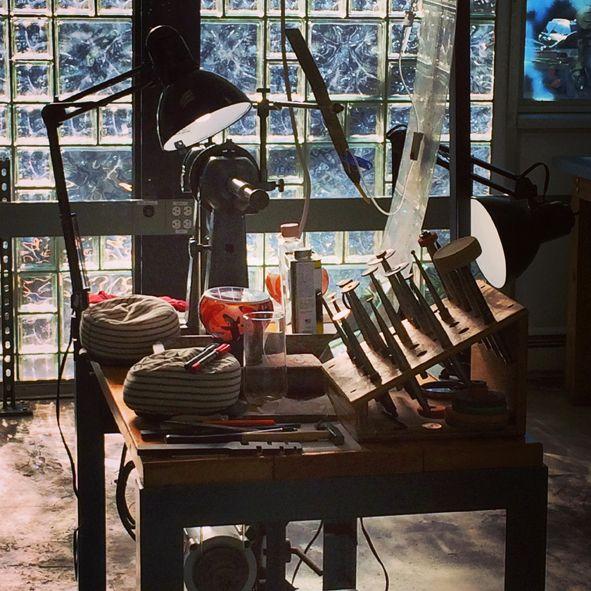 Corning Museum of Glass, Studio Engraving Shop
