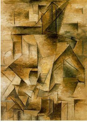 Guitar player - Pablo Picasso