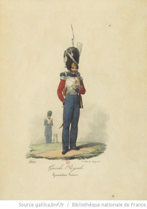 [Maison du Roi et garde royale de Louis XVIII, 1817.] / Ch. Aubry - 11