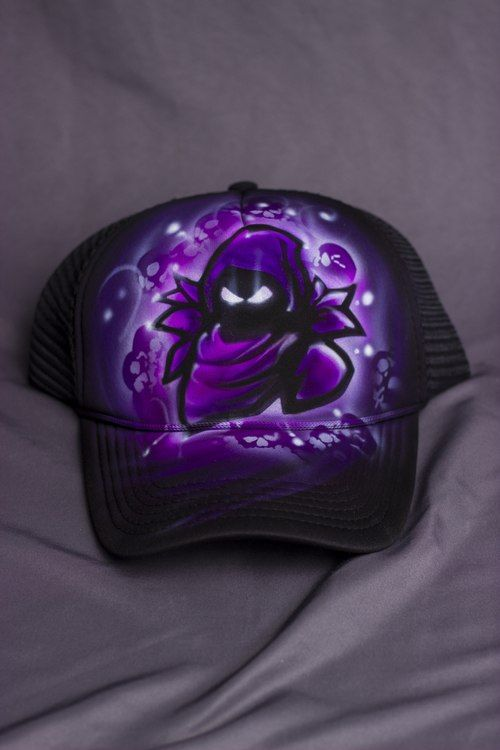 6a1ac9c7fe255 shop fortnite custom nevermore airbrush hat online  fortnite  airbrush