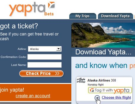 PRICE CHECK: Yapta: Lets You Track Airline Prices So You Can Get The Best