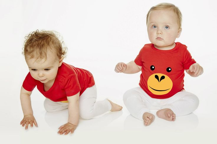 Orangutan t-shirt for kids and infants. Available now at www.reallywildchild.com. Really Wild Child. Made for little animals.