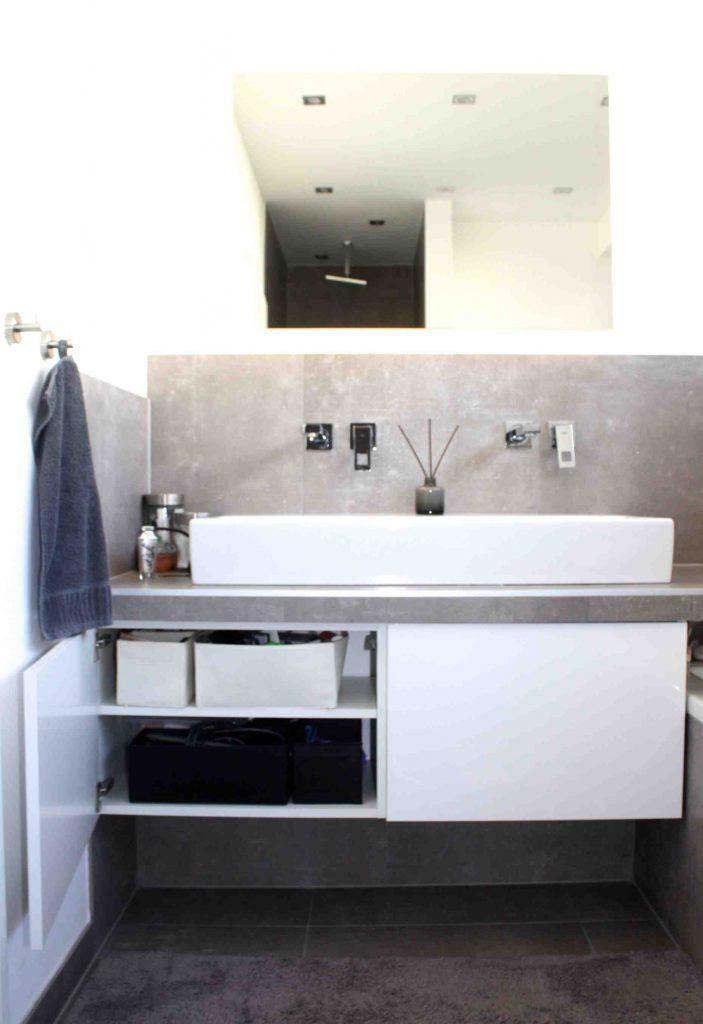 Unterschrank Badezimmer Spartipps Nachher Vorher