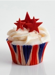 Truly Scrumptious Union Jack Cupcake Cases from Falcon Products.  www.falconproducts.co.uk