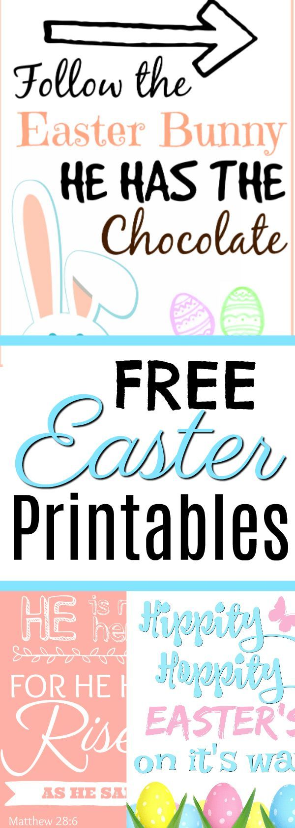 Get ready for Easter with these decorative free Easter Printables, including one…   – All Things Spring & Summer | Spring Activities, Spring Time, Spring and Summer Months, Summer Fun
