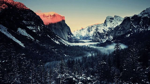 Winter in Yosemite National Park by Henry Jun Wah Lee / Evosia. Shot over the 2011 New Year weekend when a winter storm arrived in Yosemite. Overcast skies the first day, followed by heavy snow on the second day, partly cloudy the third day and sunny the fourth day. You'll see a mixture of shots from the different weather conditions. Enjoy!