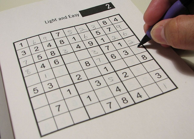Game book sudoku