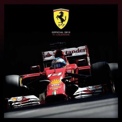 calendrier 2015 Ferrari Formule 1 - 12,00 € #onselz
