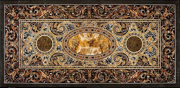 Pietra dura table top | Italian, Rome | The Met
