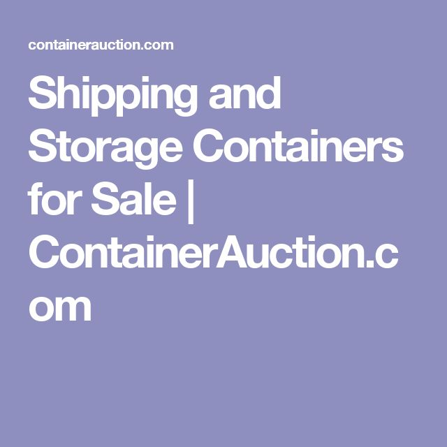 Storage Containers For Rent Price Part - 40: Best 25+ Storage Containers For Sale Ideas On Pinterest | Used Containers  For Sale, Shipping Container Sales And Container Homes For Sale