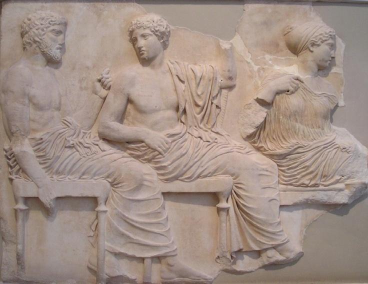 Parthenon-frisen, British Museum, London. Mere højklassisk bliver det ikke