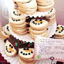 Sneeuwpop koekjes @ allrecipes.nl