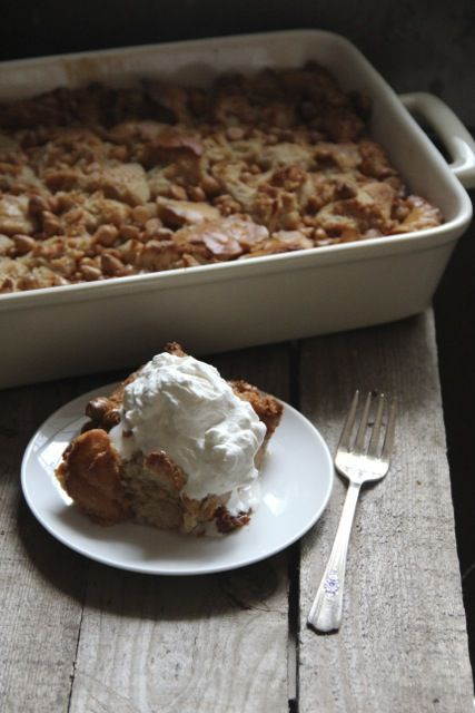 Butterscotch Bread Pudding. | recipes | Pinterest